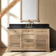 Hot Sell Classic Solid Wood Bathroom Cabinet
